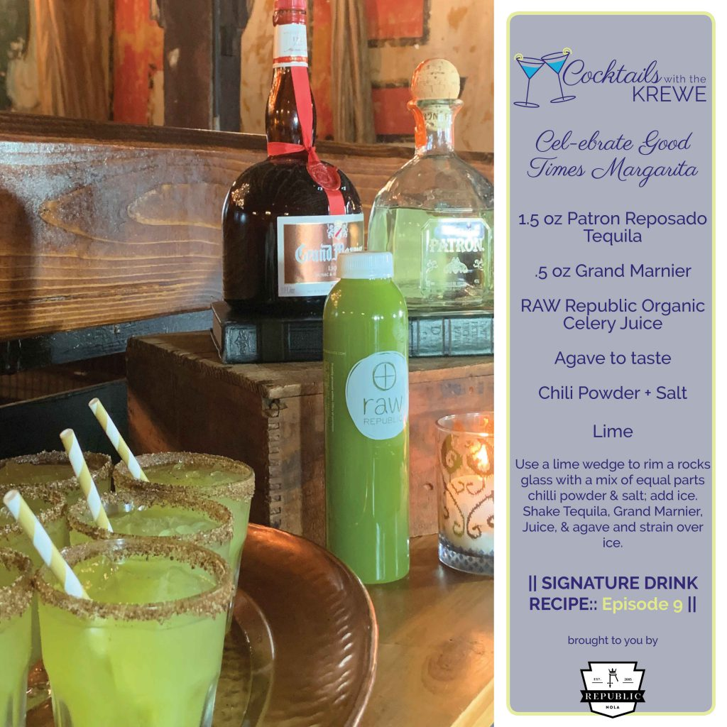 Drink Recipe - CELebrate Good Times Margarita